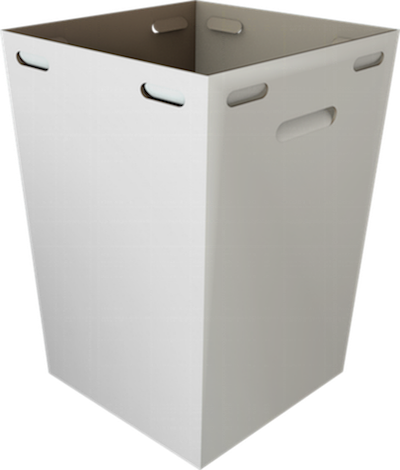 Durable Outdoor Event Recyclable Cardboard Bins